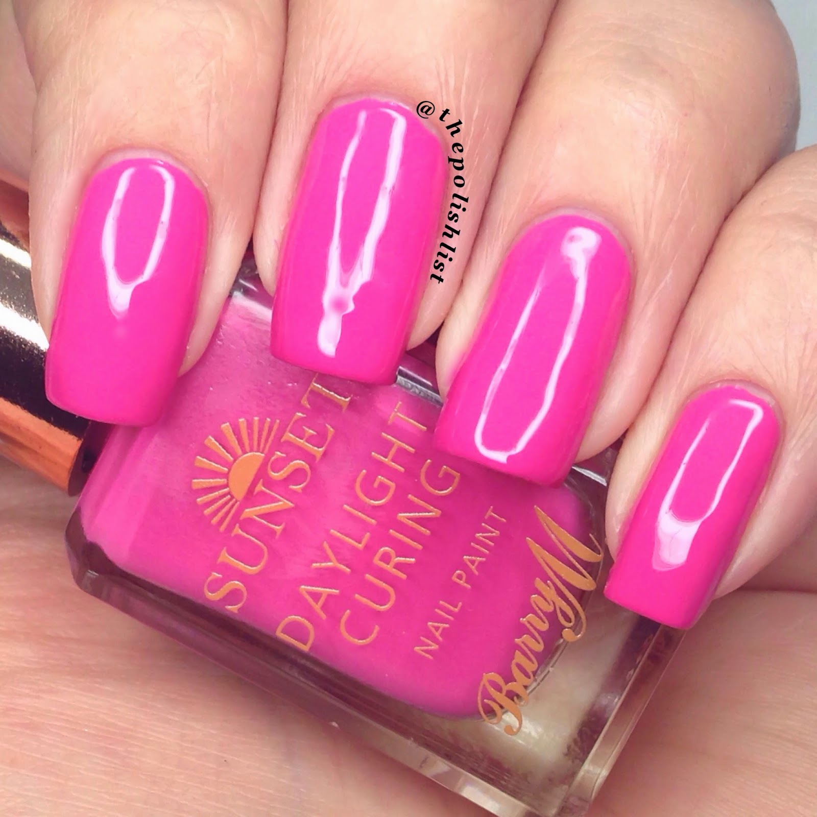 Barry m Sunset Daylight Curing
