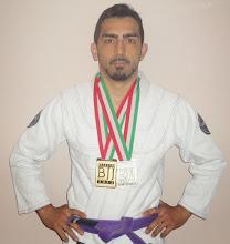 Campione Italiano cintura viola Italian  Bjj Open Roma