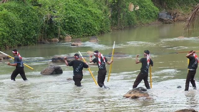 LLA di sungai Cimuntur Winduraja
