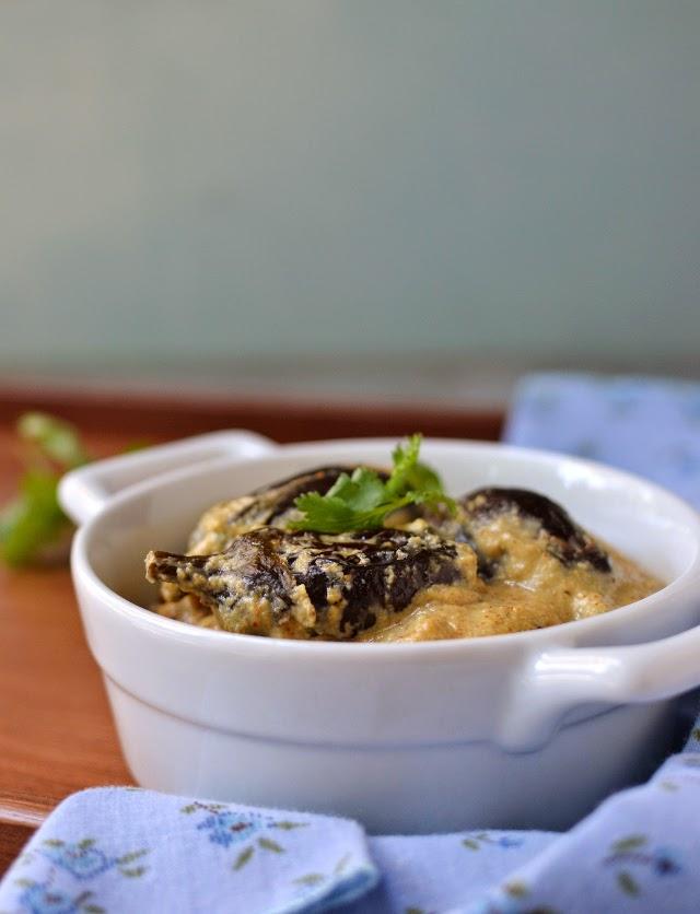 Vankaya Kurma/ Eggplant Kurma