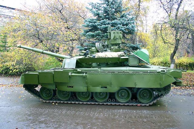 Танк Т-80БВ (объект 219М) комплексной модернизации