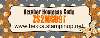 Use this code during October at www.bekka.stampinup.net and you could win free prodcuts
