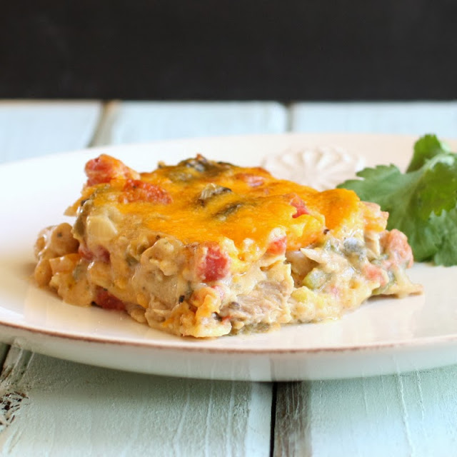 Savoury Table: Dinner's in the Freezer: King Ranch Chicken Casserole