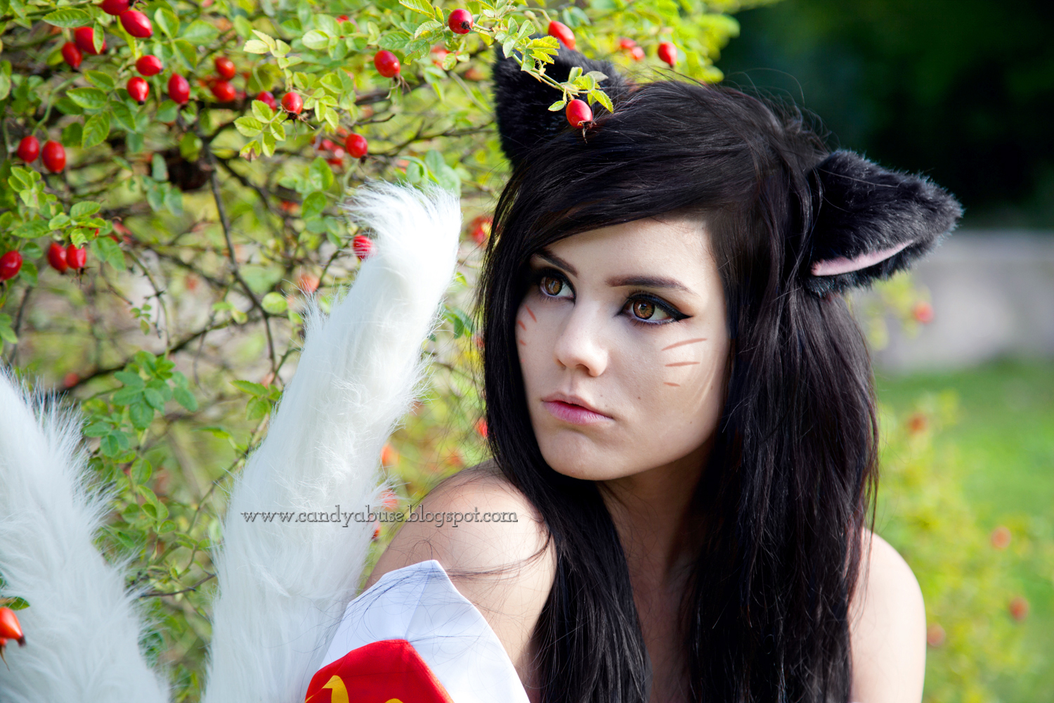 ahri cosplay league of legends