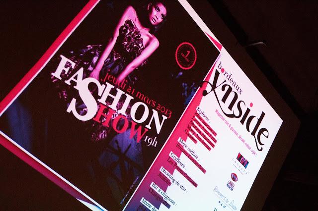 Bordeaux Ynside fashion show