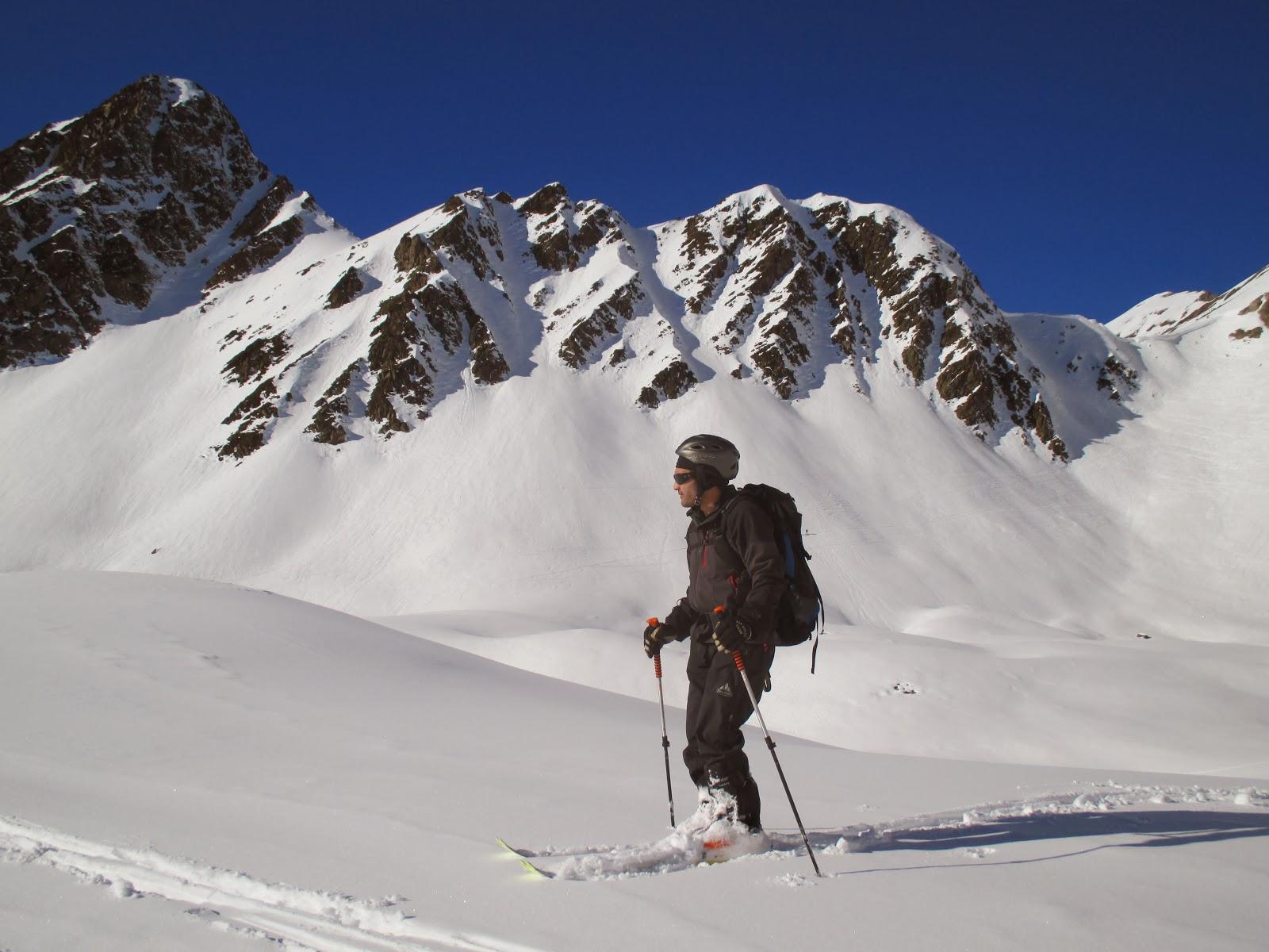 Esqui de montaña: Bareges-col D,Oncet