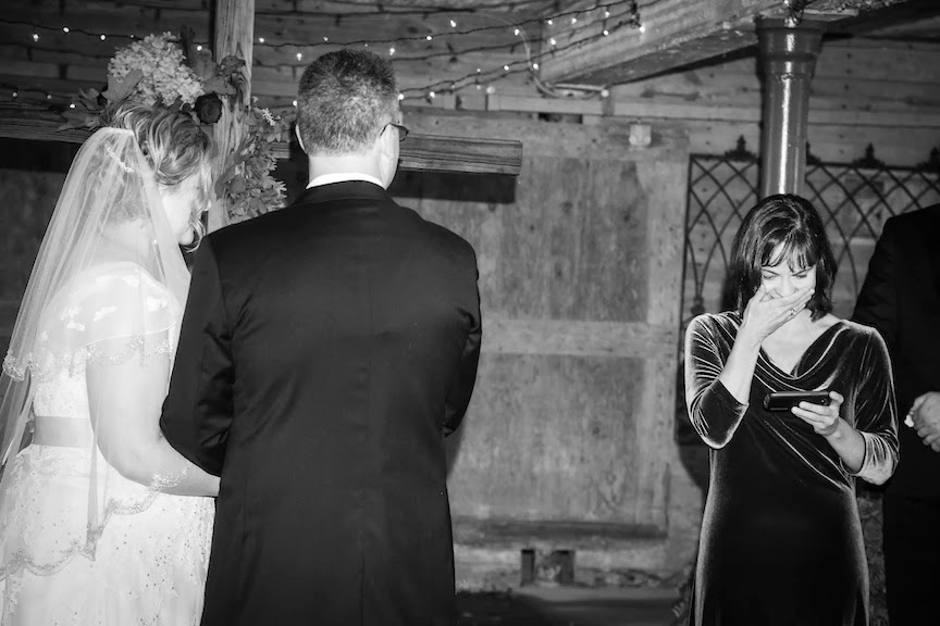 Mount Vernon Farm Wedding Ceremony Photo