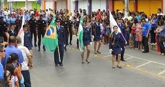 GUARDA MIRIM DE JANAÚBA DESFILE 2014