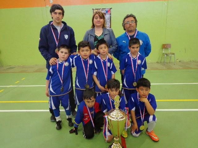 La EFS Atenas se consagró campeón en la categoría 2006-2007.