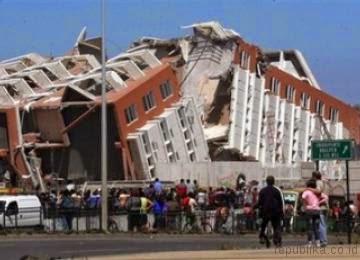 Foto Gempa Chile