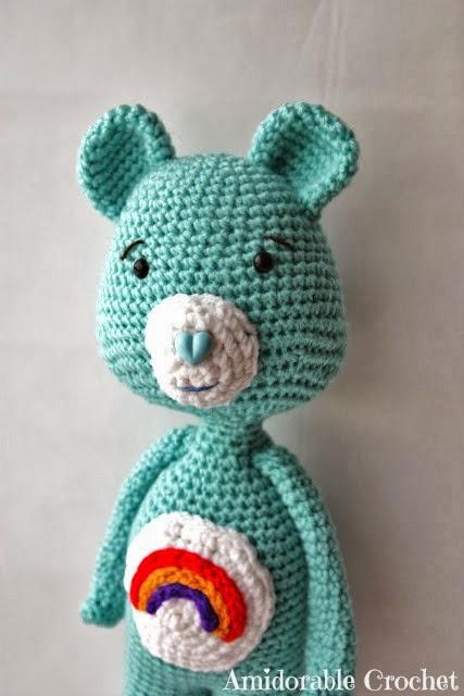 Amidorable Crochet Care Bear Pattern