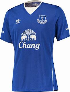 gambar photo jersey terbaru Jersey Everton home terbaru musim 2015/2016