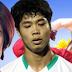 """Khoảnh khắc """"khó đỡ"""" của bạn gái ngôi sao sáng nhất bóng đá Việt"""