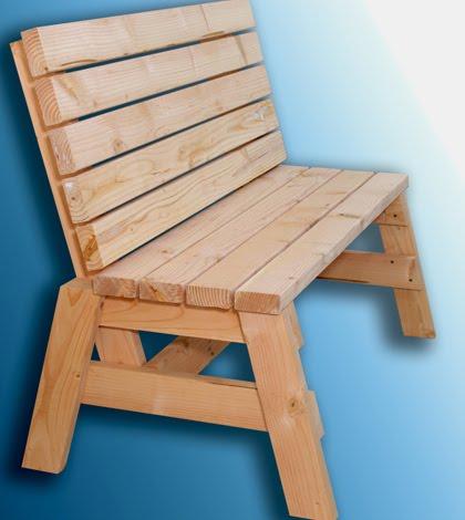 2 x 4 Bench Seat