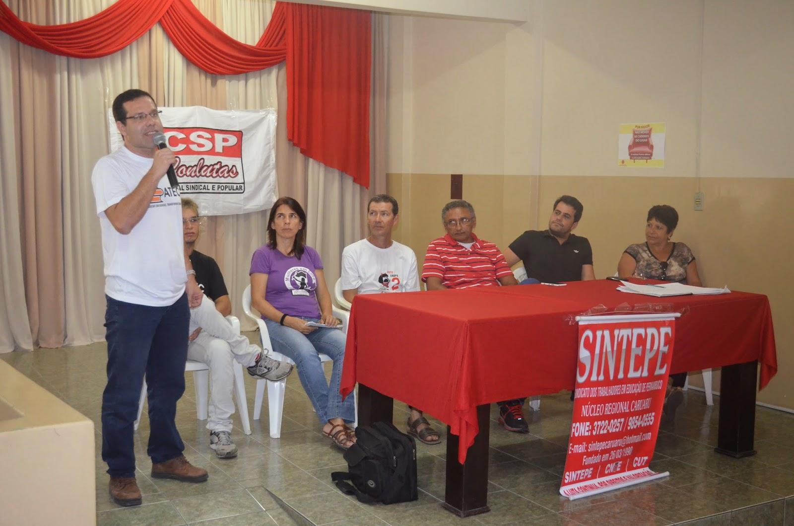 Nova diretoria regional do SINTEPE toma posse.