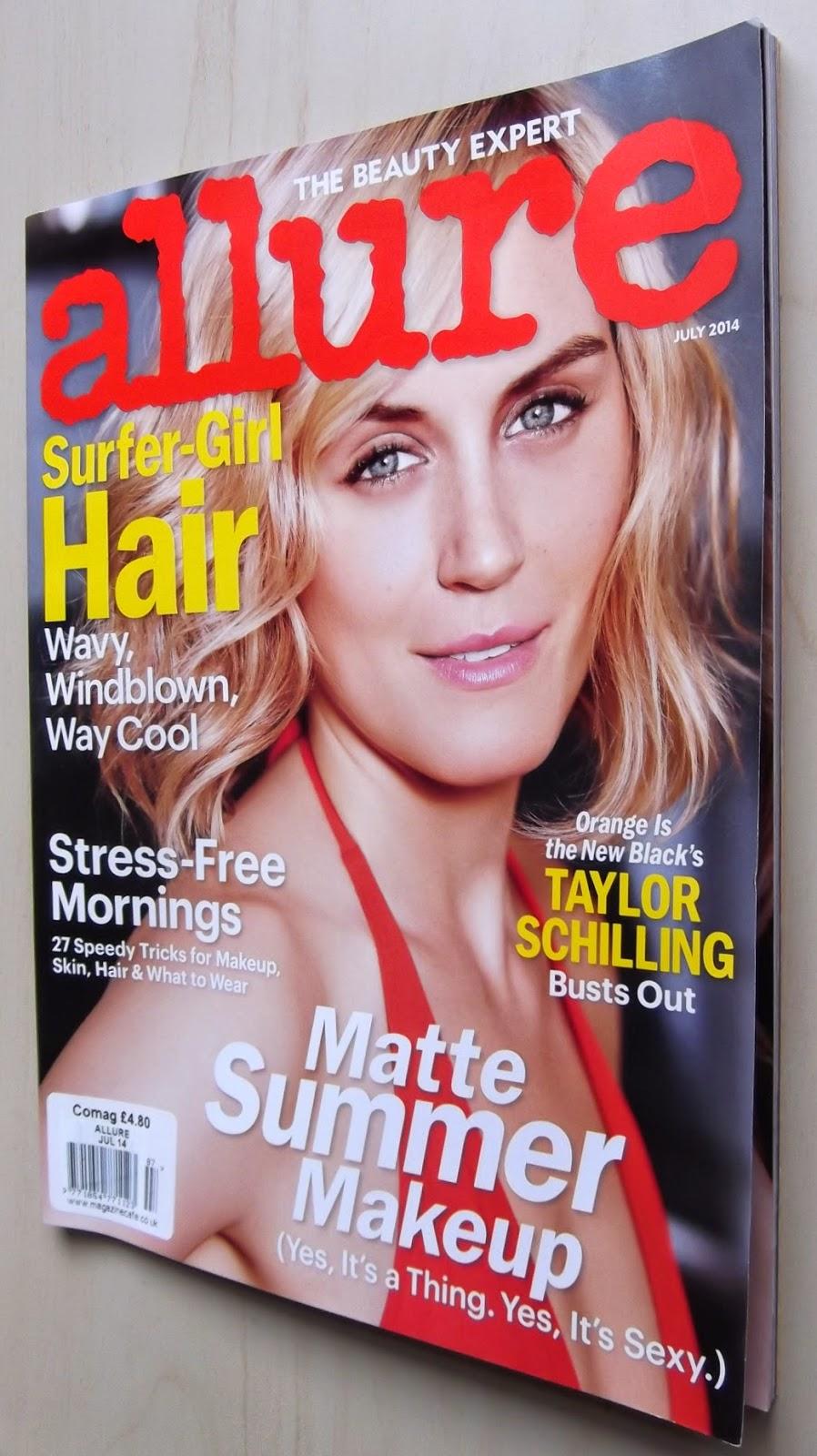 Allure beauty magazine 2014