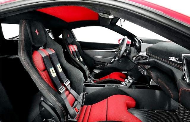 2016 Ferrari 458 Italia Interior