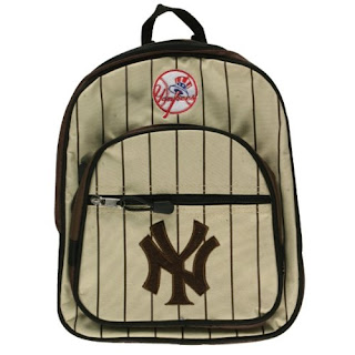 New York Yankees MLB Brown Mini Backpack