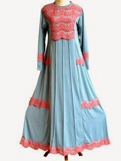 Model jubah wanita jersey klok kensi motif keren terbaru | Meyeyesshop ...