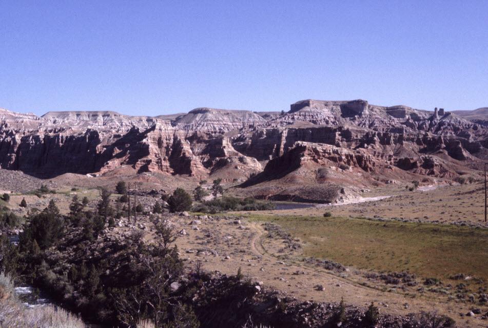 More red cliffs