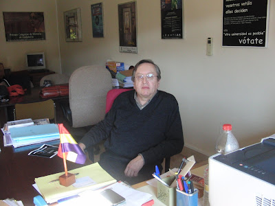 Roque Hidalgo Álvarez, catedrático de Física Aplicada en la UGR y militante de la lucha por la Tercera República