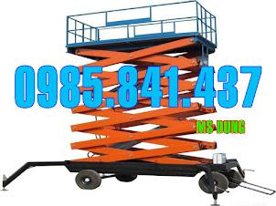 Thang nâng ziczac Eoslift- USA 300kg - 9m
