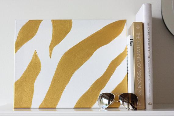 Diy Zebra Print Room Decor
