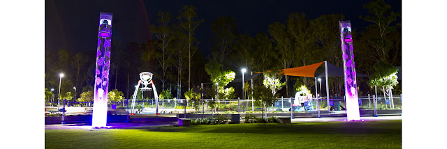 Orion Lagoon Opening - Robelle Domain at Springfield Central Ipswich 5th September 2015
