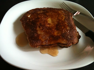 "Mock French ""Toast""   Low carb breakfast"