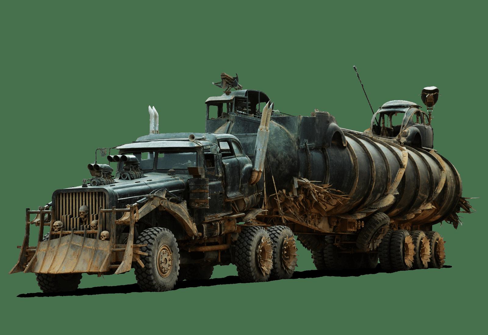 Apocalipsis Fan Mad Max Fury Road Los Vehiculos