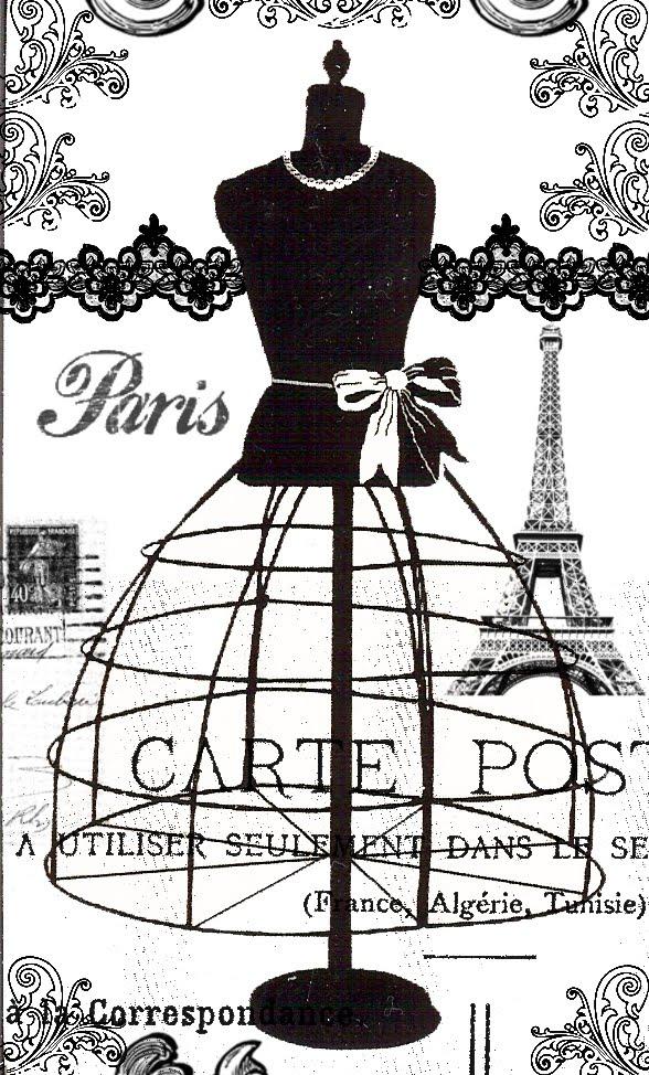 vintage dress clip art - photo #21