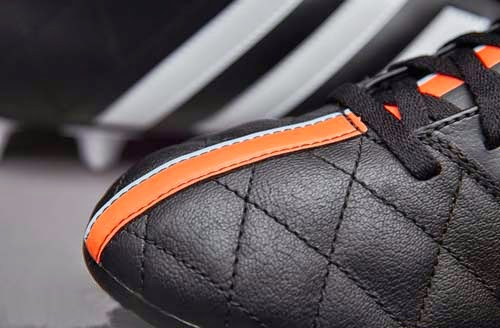 Adidas 11Questra FG Leather football Boots with Flash Orange