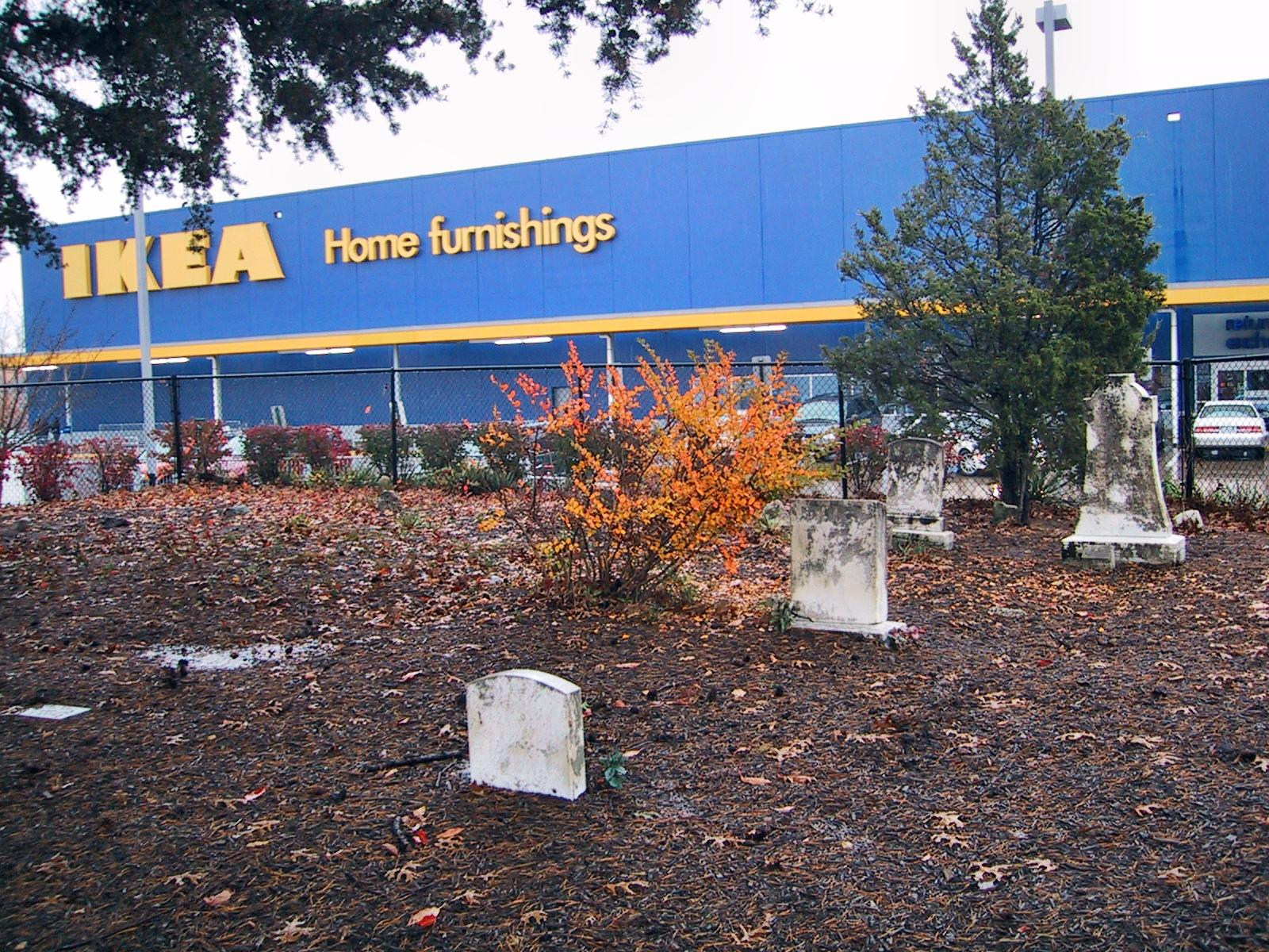 Deformutilation the strip mall cemetery for Ikea greenville sc