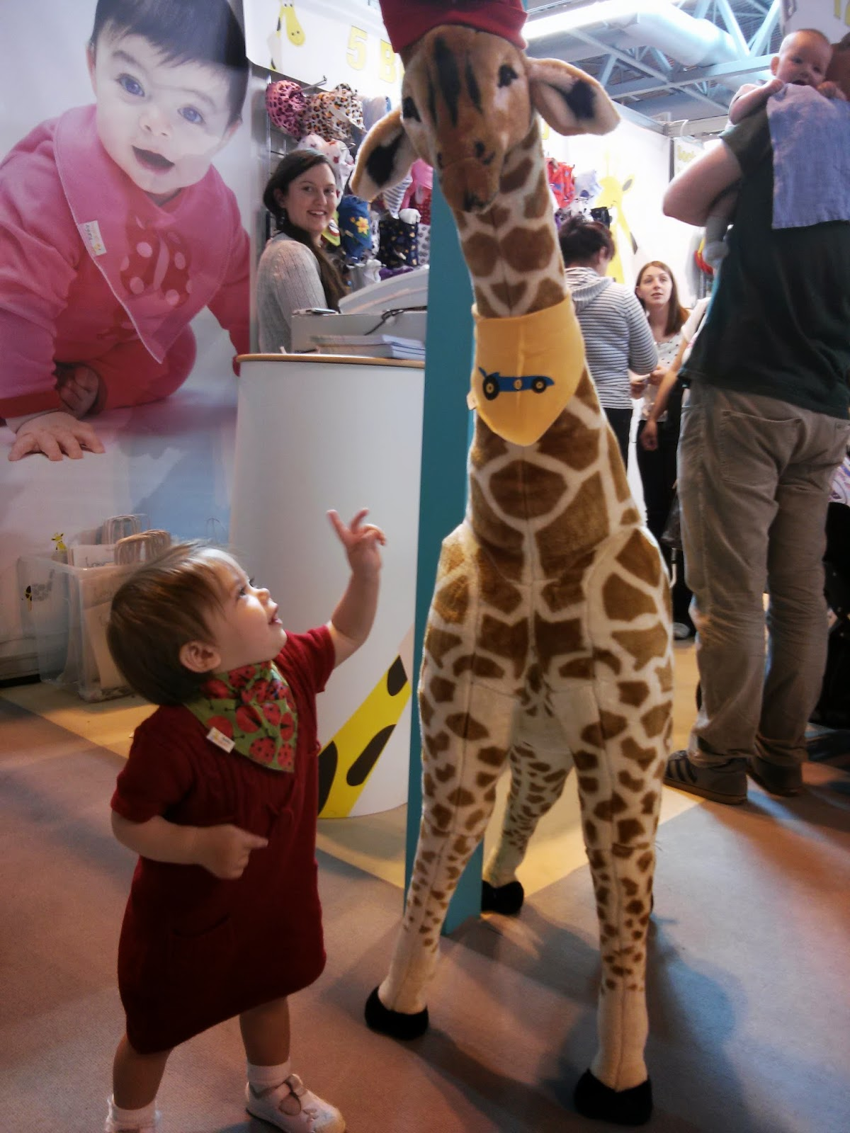 Youngest with Funky Giraffe