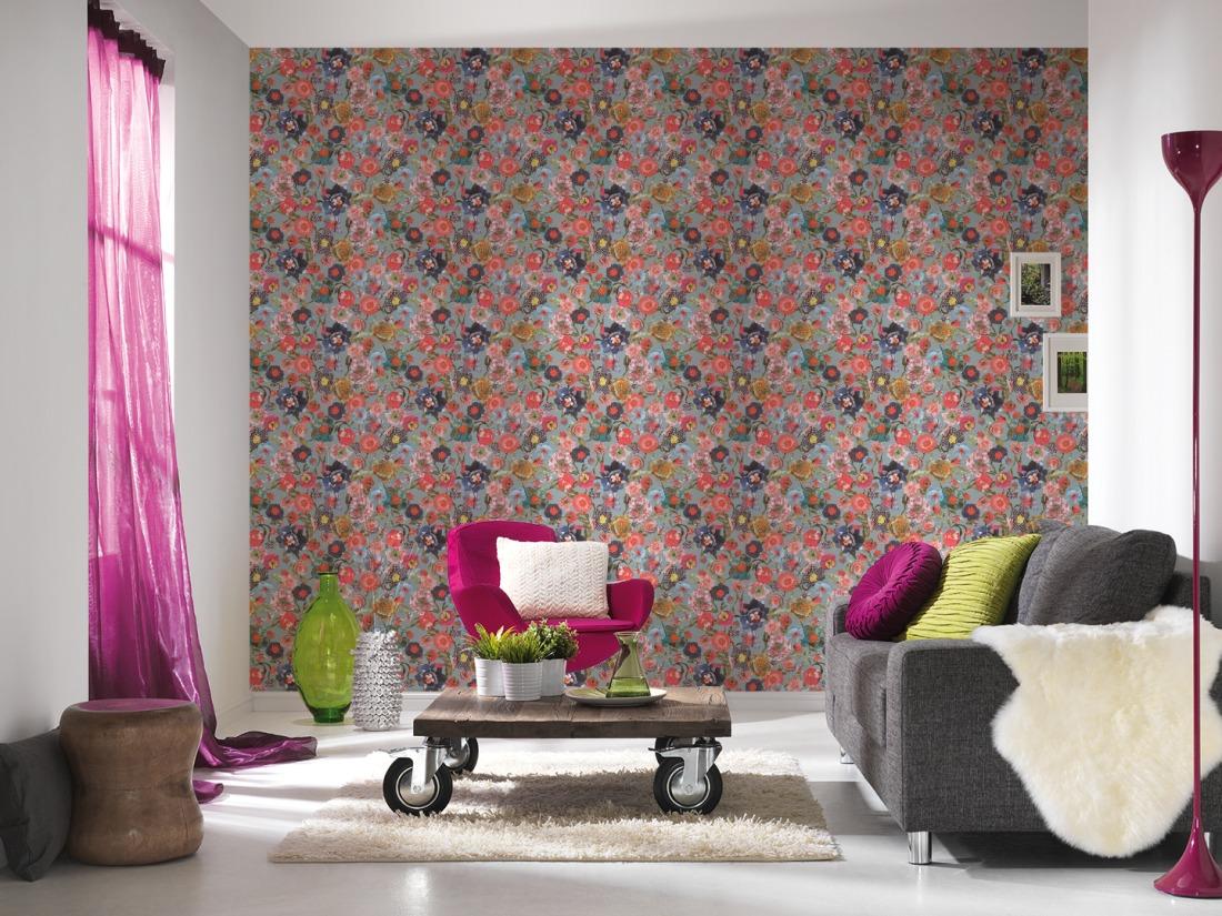 Renueva las paredes de tu casa me gusta el papel pintado - Papel para paredes con gotele ...
