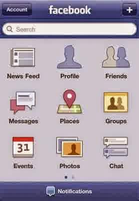 Aplikasi Facebook HP Seluler Terbaru 2015