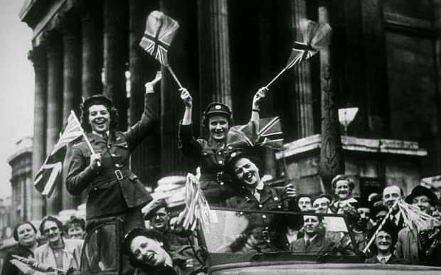RE-LIVE VE DAY!