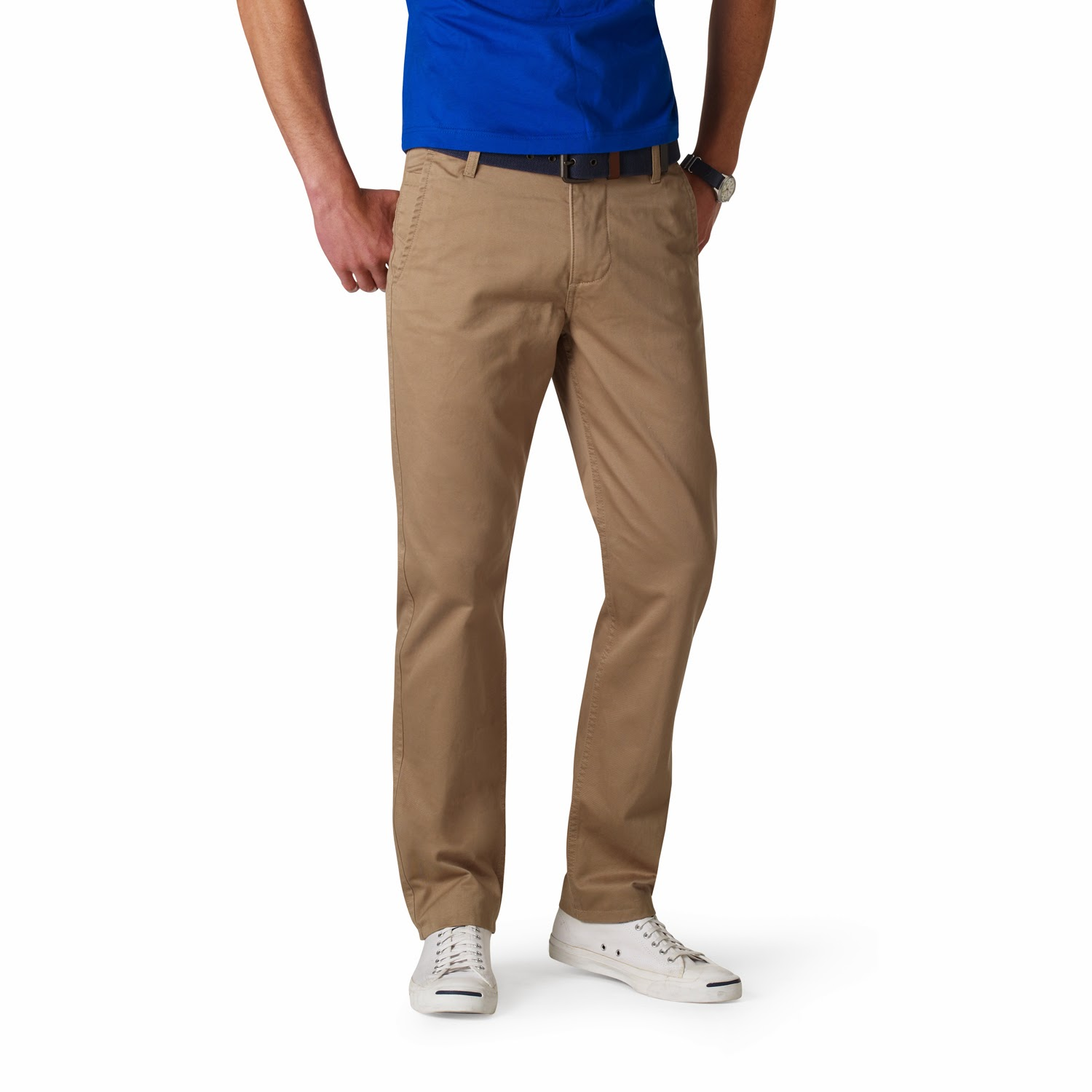 Dockers Game Day Khakis Front View