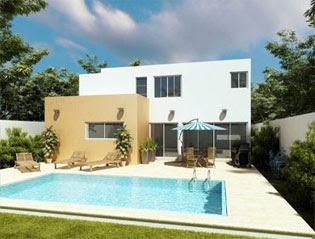 Fachadas de casas modernas fachada trasera de casa for Casa tipo minimalista