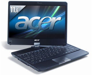 Acer aspire 1420P Notebookad
