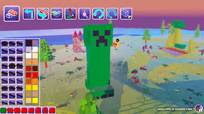 Minecraft Creeper LEGO Worlds