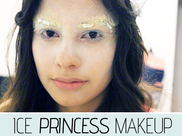 Halloween Makeup  Ice PrincessIce Princess Halloween Makeup