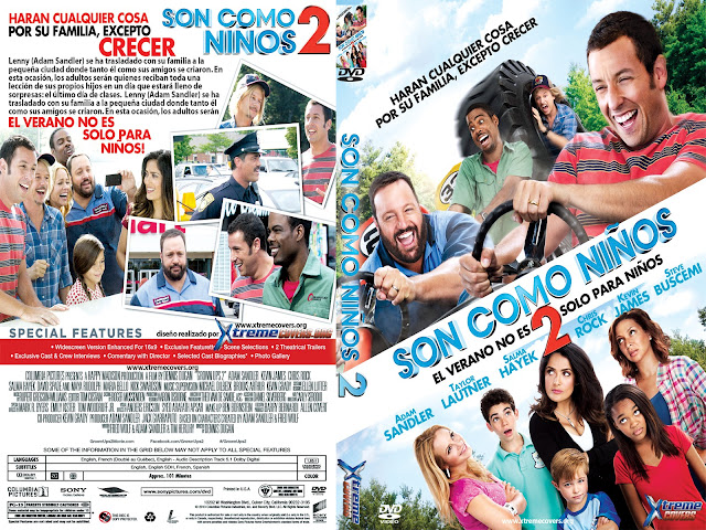 Son Como Niños 2 (2013) DVDRip Ingles Subtitulos Esp Pegados