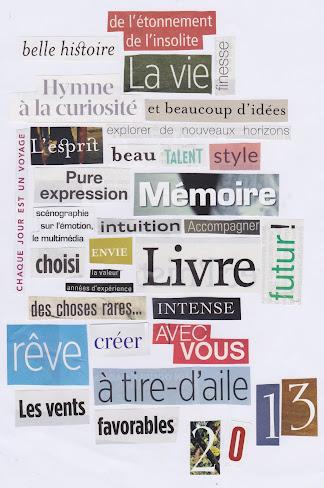 2013 : le choix des mots.