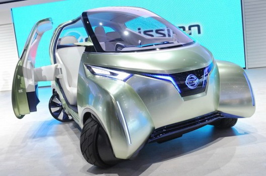 New Nissan Pivo 3 Concept Pattern Of The Vehicle Future New Car