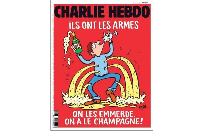 NEW   PROVOCATION  OF  CHARLIE  HEBDO   17/11/15