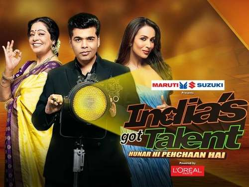 Poster Of India's Got Talent Season 07 15th May 2016 300MB  576p Free Download Watch Online Worldfree4u