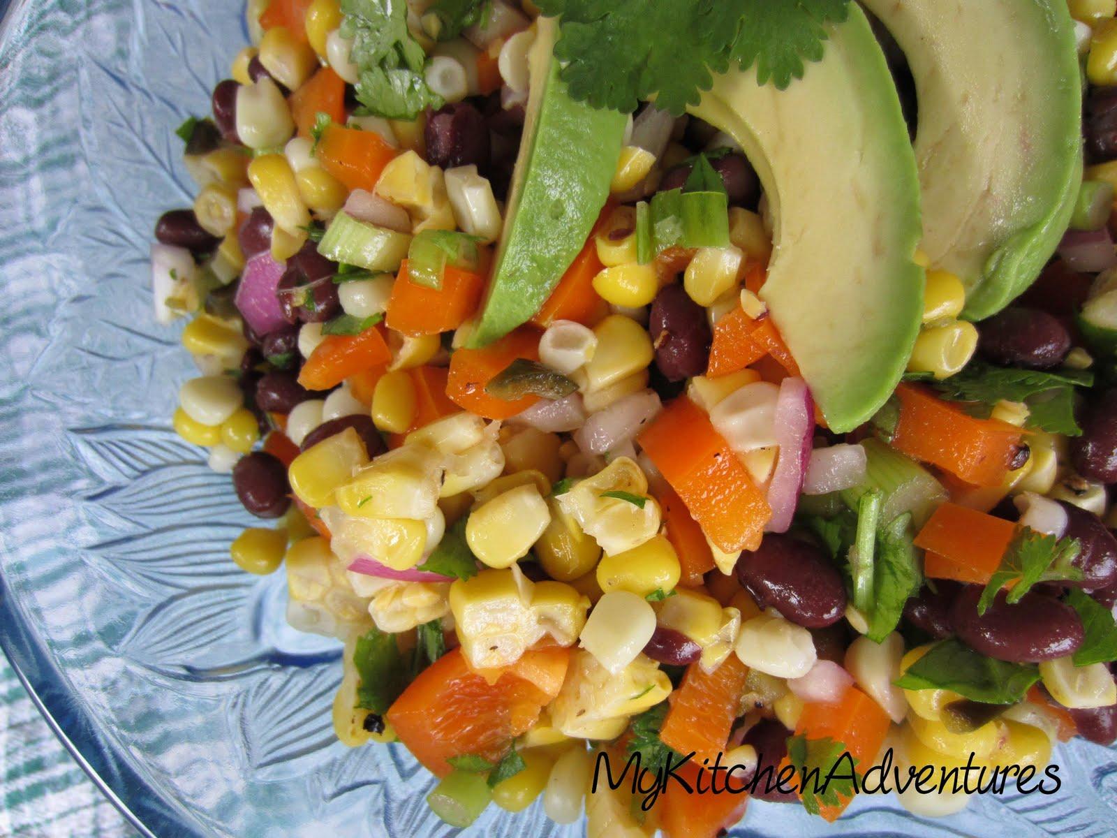 Renee's Kitchen Adventures: Corn, Black Bean and Avocado Salad