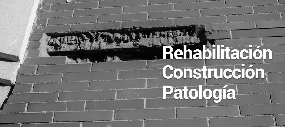 Patología y Rehabilitación en Construcción y Materiales