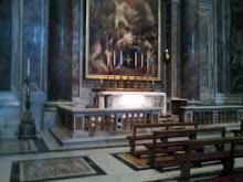 Basilica San Pedro. Tumba del Beato Juan Pablo II